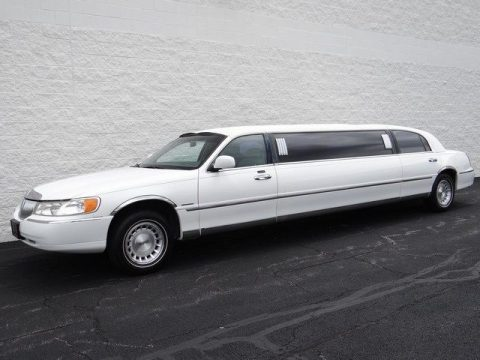 Overall nice shape 1999 Lincoln Town Car Krystal Koach limousine for sale