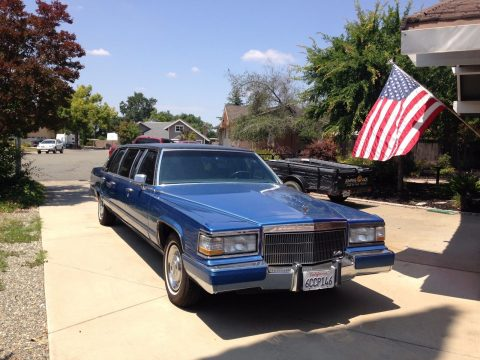 Presidential car 1992 Cadillac Brougham Limousine for sale