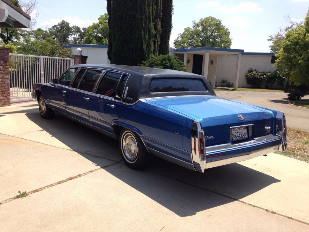 Lincoln Towncar 2017 >> Presidential car 1992 Cadillac Brougham Limousine for sale