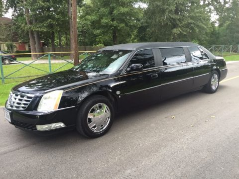 Raised roof 2007 Cadillac Escalade limousine for sale
