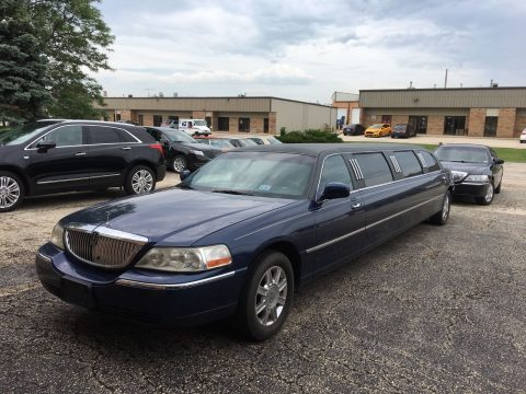 Replaced engine 2007 Lincoln Town Car limousine for sale