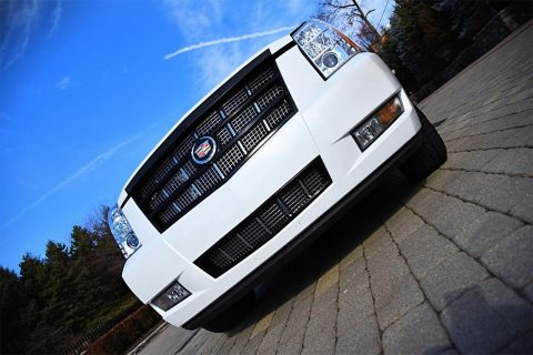 Tandem axle 2008 Cadillac Escalade limousine for sale