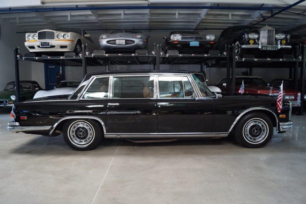 Classic 1972 mercedes benz 600 series m100 6 3l 5 6 for Mercedes benz 600 series