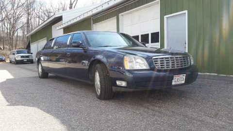 expertly maintained 2003 Cadillac Deville Limousine for sale