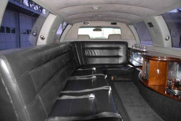 Redone interior 1996 Cadillac Brougham limousine