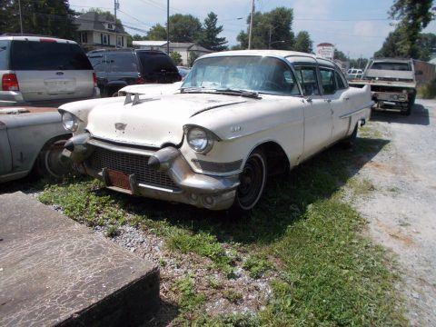 vintage 1957 Cadillac Fleetwood limousine for sale