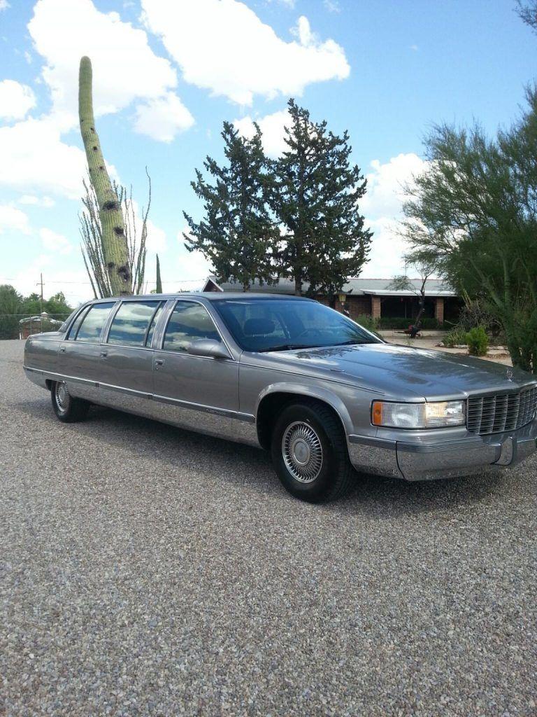 amazing condition 1996 Cadillac Fleetwood Limousine