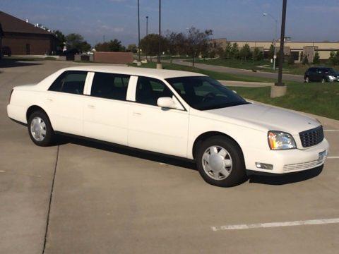 great shape 2003 Cadillac DeVille limousine for sale
