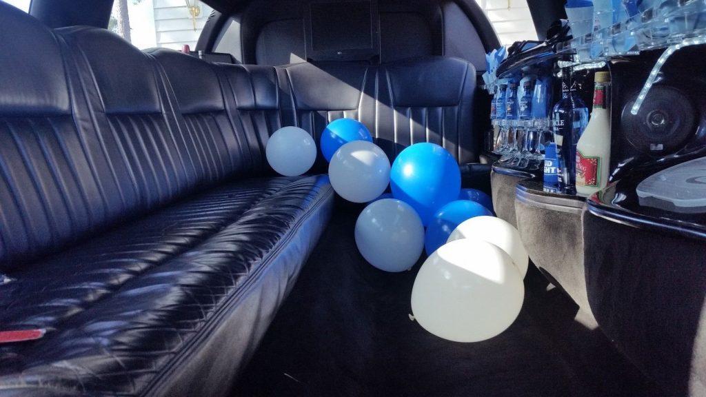 LED lights 2003 Lincoln Town Car limousine