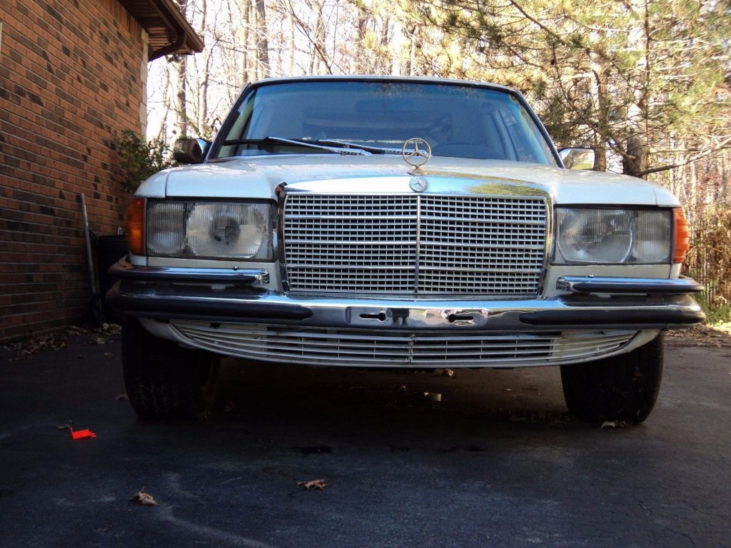 one of a kind 1979 Mercedes Benz S Class 6.9 limousine