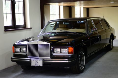 rare 1985 Rolls Royce Silver Spirit limousine for sale