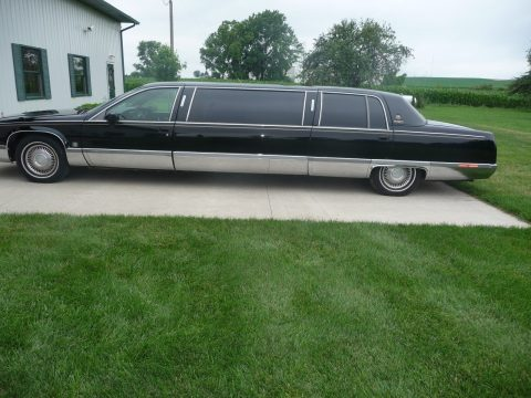 specially built 1994 Cadillac Fleetwood limousine for sale