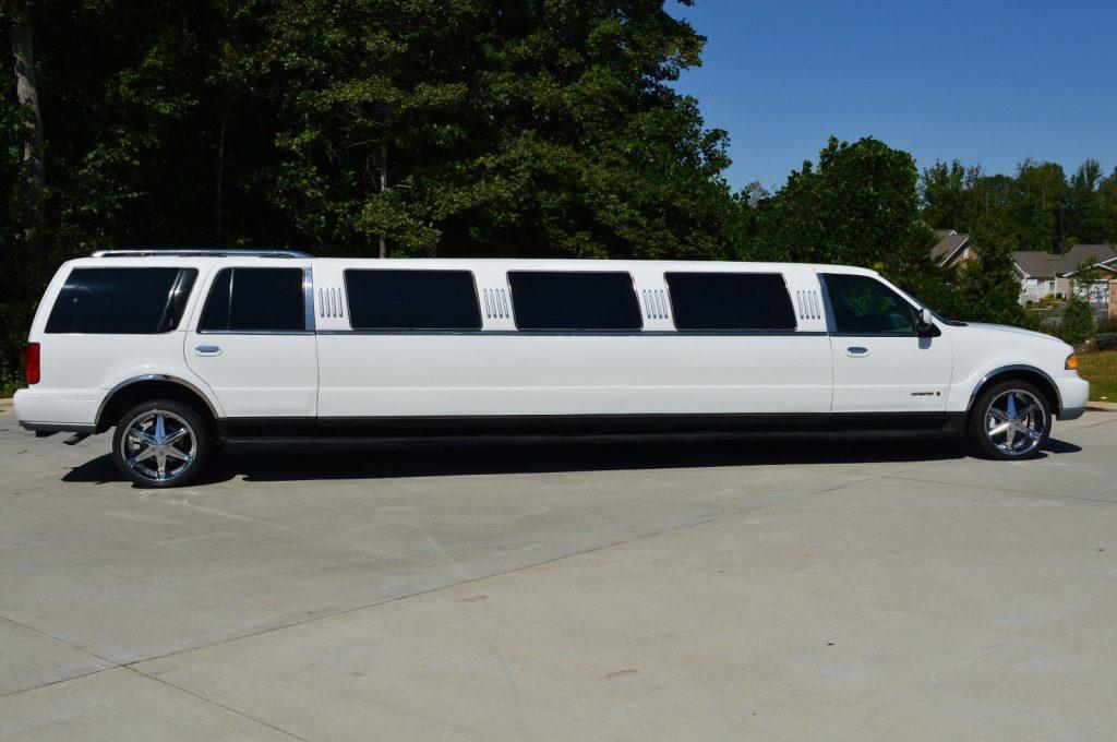 upgraded 2000 lincoln navigator limousine for sale. Black Bedroom Furniture Sets. Home Design Ideas