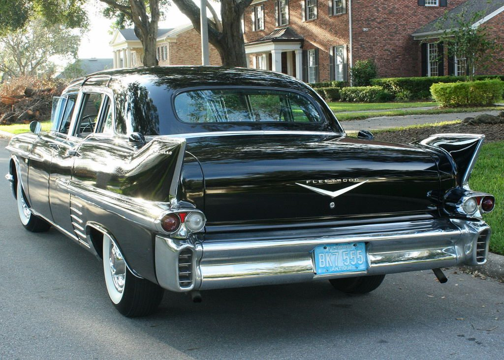 Rare 1958 Cadillac Fleetwood Imperial Limousine For Sale