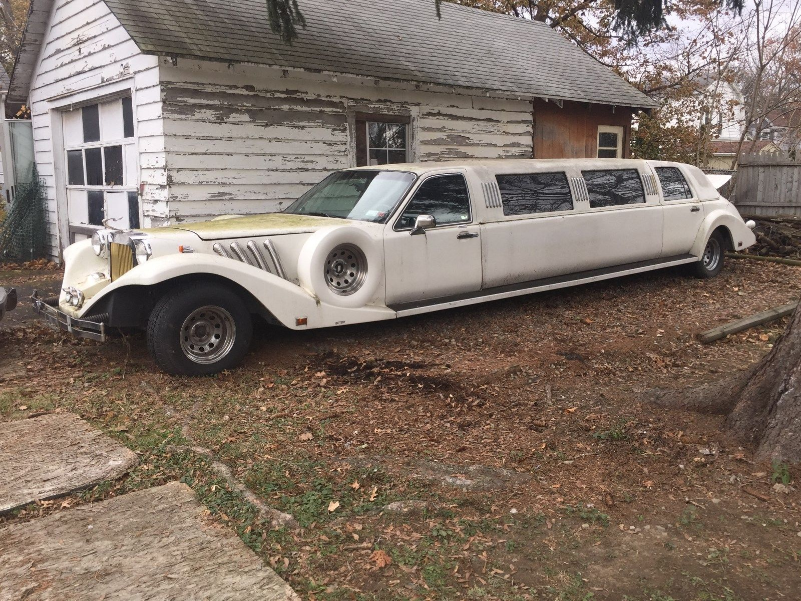 Converted 1994 Lincoln Town Car Excalibur Limousine For Sale