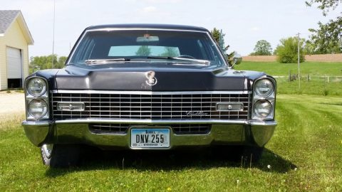 fuel injected 1967 Cadillac Fleetwood Series 75 limousine for sale