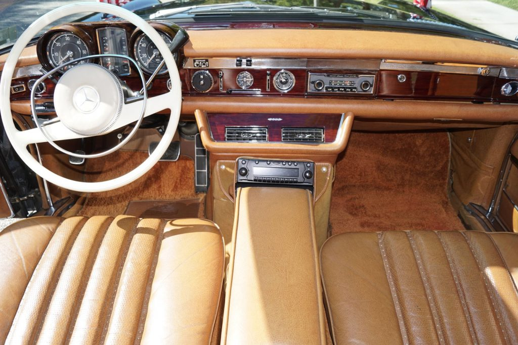 legendary 1972 Mercedes Benz 600 Series limousine