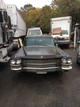 needs restoration 1963 Cadillac Series 75 Fleetwood limousine for sale