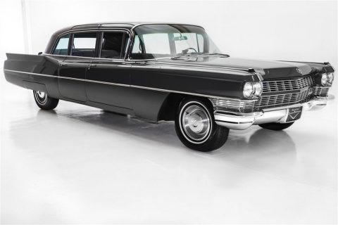 stunning 1965 Cadillac Fleetwood 75 series limousine for sale