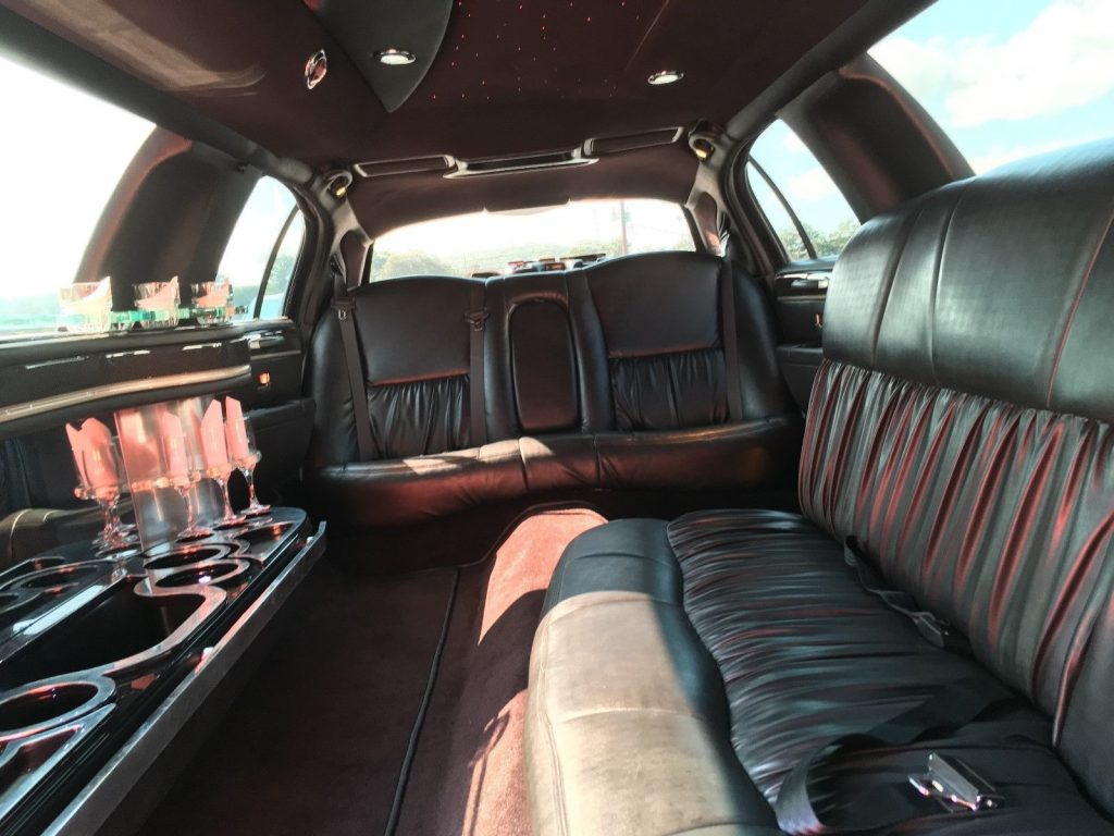 well maintained 2011 Lincoln Town Car limousine
