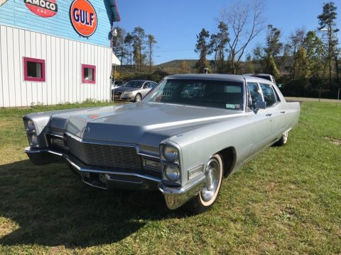 working 1968 Cadillac Fleetwood Limousine for sale