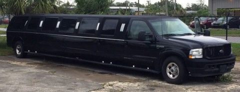 like new 2003 Ford Excursion American Limousine for sale