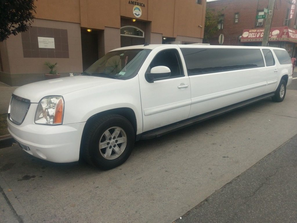 loaded 2007 gmc yukon suv stretch limousine for sale. Black Bedroom Furniture Sets. Home Design Ideas