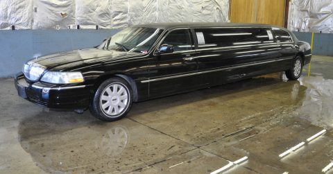 low mileage 2004 Lincoln Town Car limousine for sale
