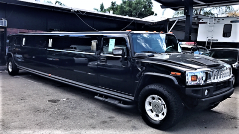 low miles 2006 Hummer H2 limousine for sale