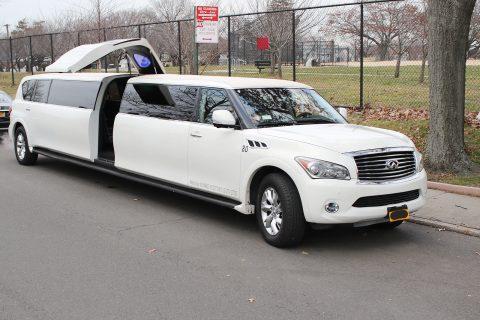 jet doors 2014 Infiniti QX80 limousine for sale
