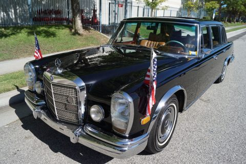 luxury 1972 Mercedes Benz 600 Series Leather rare limousine for sale