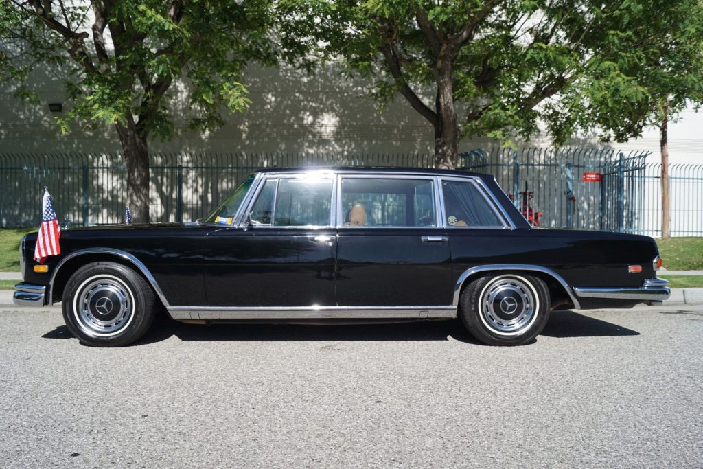 luxury 1972 Mercedes Benz 600 Series Leather rare limousine