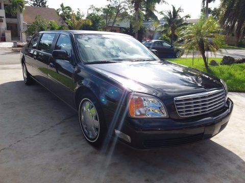 mint 2001 Cadillac DTS Superior LIMOUSINE for sale