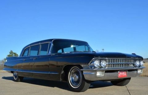 original 1962 Cadillac Fleetwood 75 Series Limousine for sale