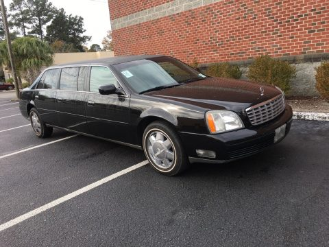 outstanding 2003 Cadillac DeVille Limousine for sale