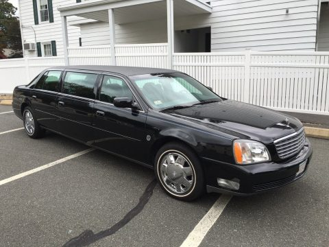 well maintained 2001 Cadillac DeVille Superior Limousine for sale