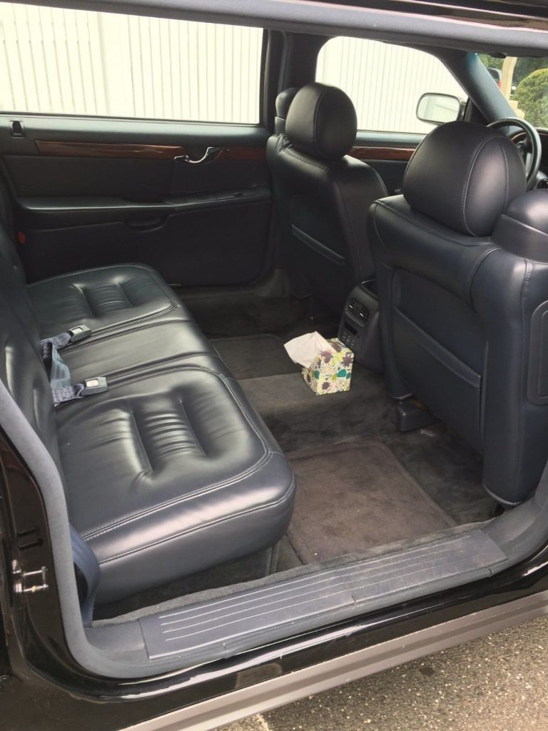 well maintained 2001 Cadillac DeVille Superior Limousine