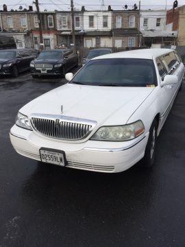 5 door 2004 Lincoln Town Car limousine for sale