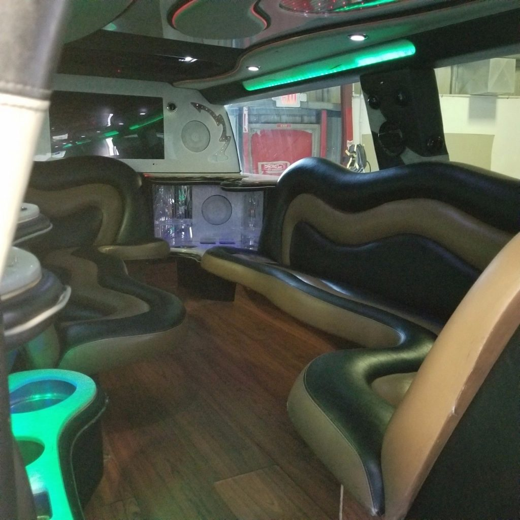 """Hummer daddy"" 2006 GMC Topkick Limousine"