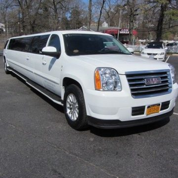 hybrid 2008 GMC Yukon Denali limousine for sale