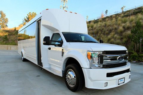 loaded 2017 Ford F 550 XL limousine bus for sale