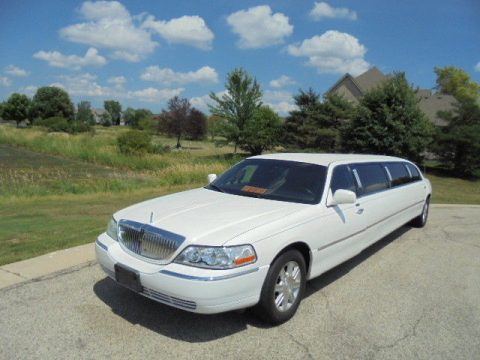 serviced 2008 Lincoln Town Car limousine for sale