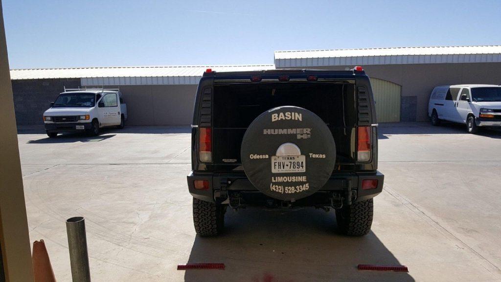 loaded 2006 Hummer H2 Limousine