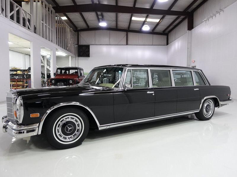 Freshly Rebuilt suspension 1968 Mercedes Benz 600 Pullman Limousine