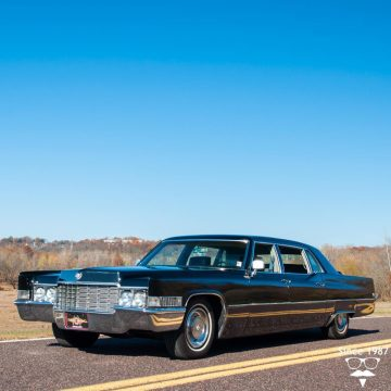 garaged 1969 Cadillac Series 75 Limousine for sale