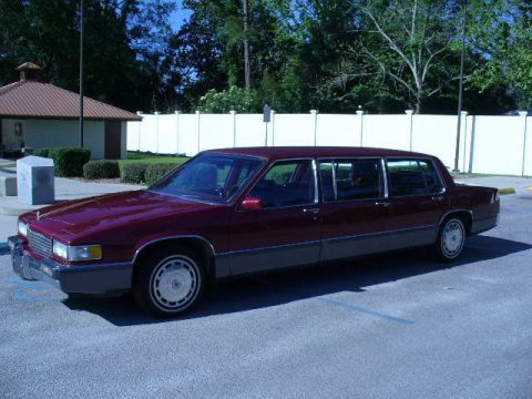 like new 1989 Cadillac DeVille limousine for sale