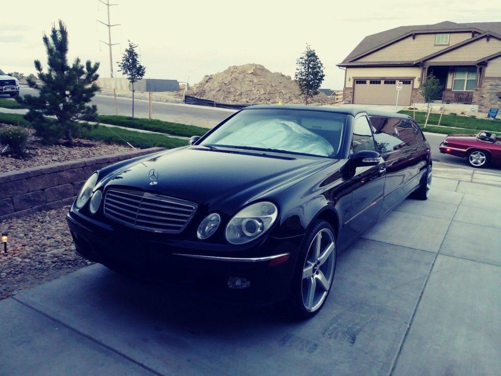 low mileage 2003 Mercedes Benz Series E500 limousine