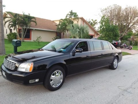 RECENTLY SERVICED 2004 Cadillac DTS limousine for sale