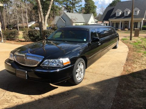 Tiffany Package 2008 Lincoln Town Car limousine for sale