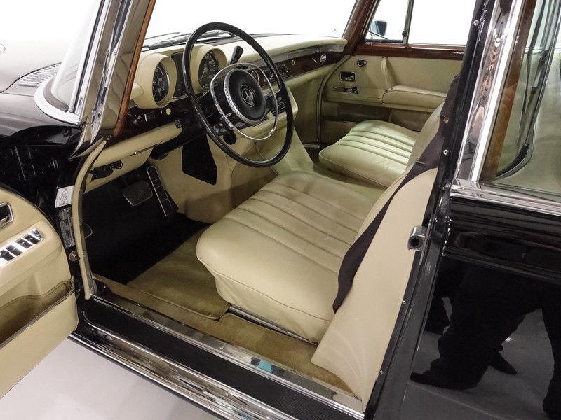 new suspension 1968 Mercedes Benz 600 Series Pullman Limousine